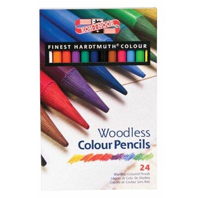 Woodless Colour Pencil FA8758-24