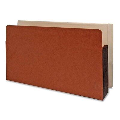 "Kleer-Fax Shelf File,w/ Side Tab, 8-3/4""x3/4 Tab, 5-1/4"" Exp., Redrope at Sears.com"
