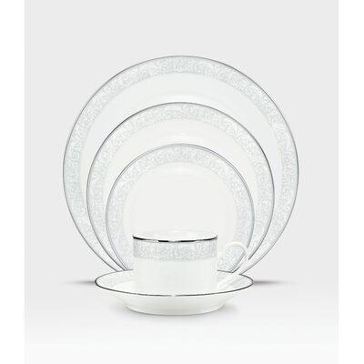 Alderwood 20 Piece Place Setting In White