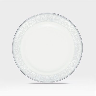 Alderwood Bread And Butter Plate In White (set Of 4)