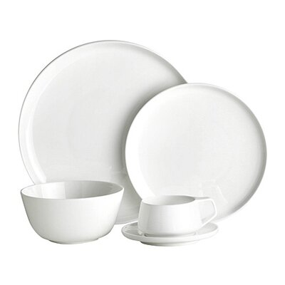 Noritake Marc Newson Bone China 20 Piece Dinnerware Set, Service for 4 037725404080