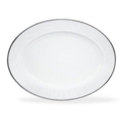 Noritake Abbeyville Oval Platter - Size: 16
