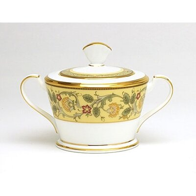 Golden Pageantry Sugar Dish With Cover