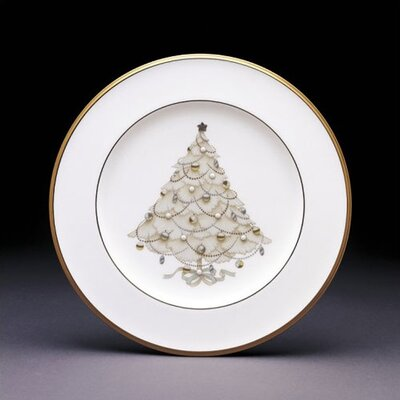 Palace Christmas Gold Set Of 4 Holiday Accent Plates