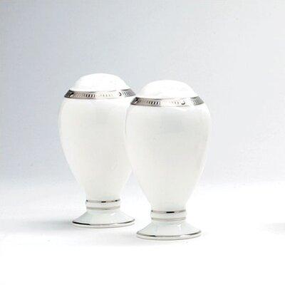 Rochelle Platinum Salt  Pepper Shaker