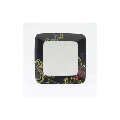 Swing 7 1/2 Small Square Plate (set Of 4)