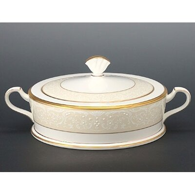 White Palace 64 Oz Covered Vegetable Bowl