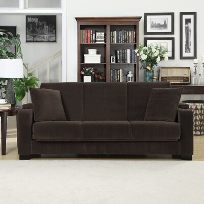 C12-S1-VBL87 HLV1943 Handy Living Olivia Convert-a-Couch Sleeper Sofa