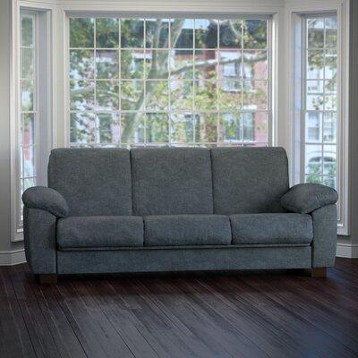 Wrangler Sleeper Sofa Upholstery: Charcoal Blue