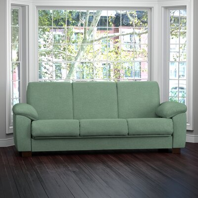 Wrangler Sleeper Sofa Upholstery: Teal Green