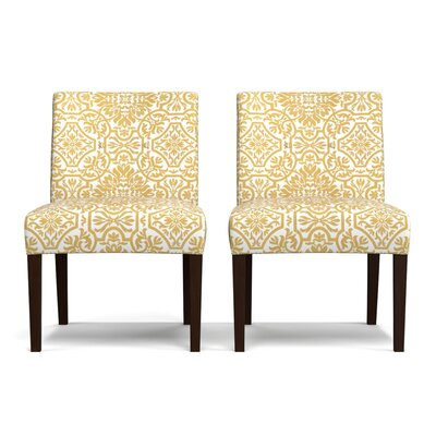Lennon Side Chair Upholstery: Gold