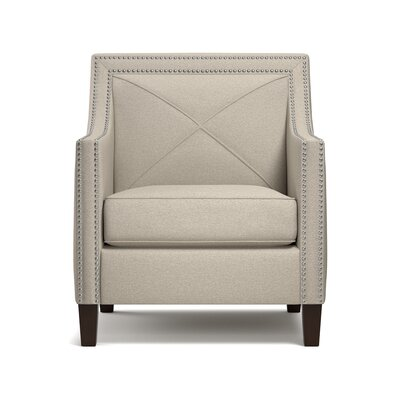 Rome Arm Chair Upholstery: Taupe/Gray/Brown