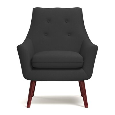Critchfield Armchair Upholstery: Charcoal Gray