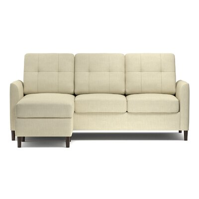 Bates Reversible Sectional Upholstery: Creamy Tan