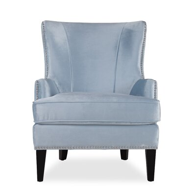 Roselyn Armchair Upholstery: Blue