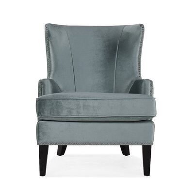 Roselyn Armchair Upholstery: Green
