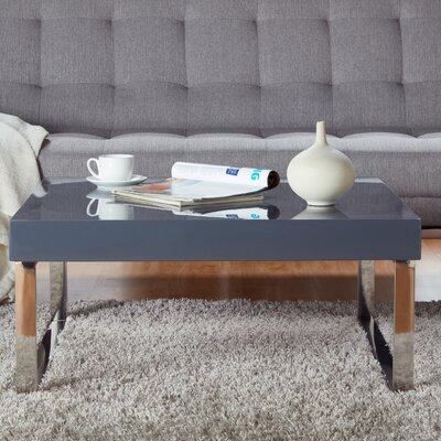 Pollitt Square Coffee Table Base Color: Light Gray