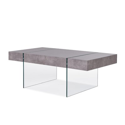 Donquez Rectangular Coffee Table Top Finish: Light Gray