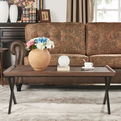 Kirti Rectangular Coffee Table Color: Brown Oak