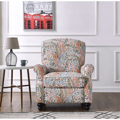 ProLounger� Recliner Color: Mango Paisley