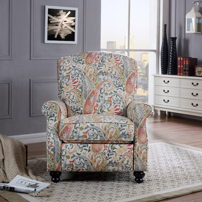 ProLounger� Recliner Color: Coral Paisley
