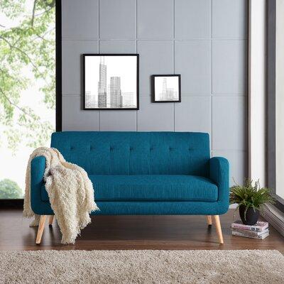 Kingston Sofa Upholstery: Peacock Blue