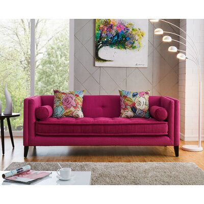 Willilams Classic Modern Sofa Color: Pink