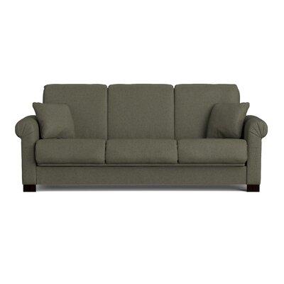 Lawrence Full Convertible Sleeper Sofa Upholstery: Basil Green
