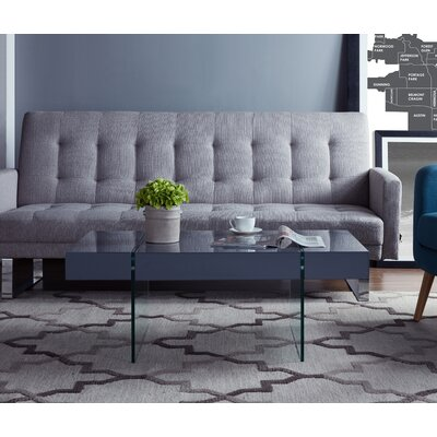 Donquez Rectangular Coffee Table Top Color: Gray