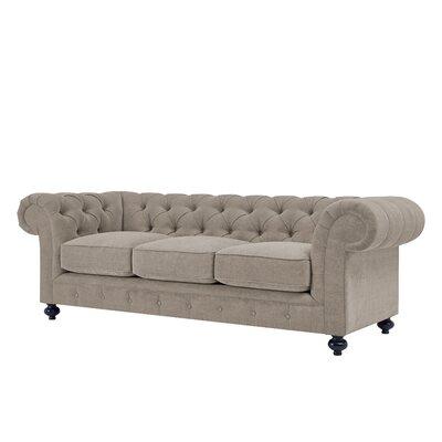 Laster Sofa Upholstery: Smoke Gray