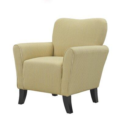 Sasha Armchair Upholstery: Sand / Cream