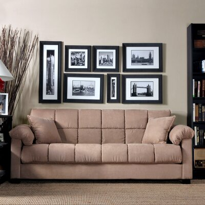 Handy Living Convert-A-Couch Sleeper Sofa - Color: Mocha at Sears.com