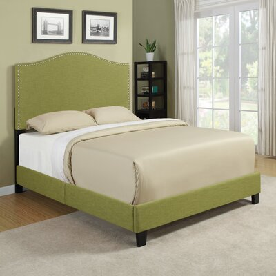 Handy Living Noleta Queen Panel Bed - Color: Green