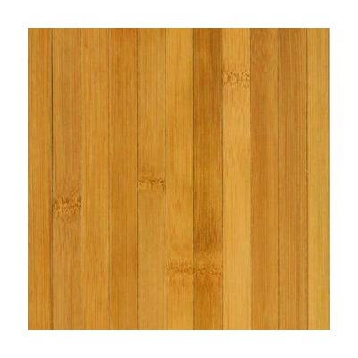 Bamboo Floor Tile in Medium Brown