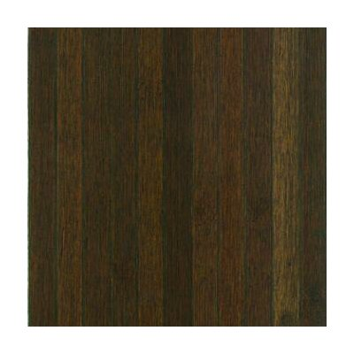 Bamboo Floor Tile in Dark Brown