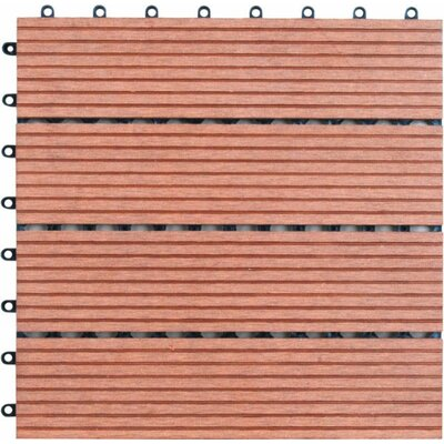 Bamboo Composite 12 x 12 Deck Tiles