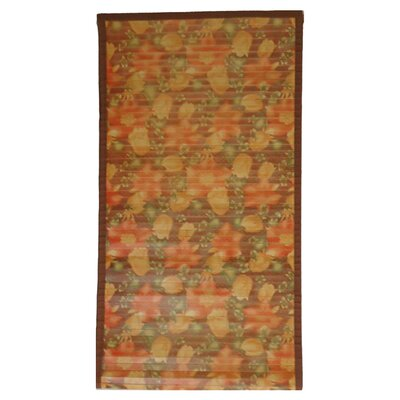 Intersection Floral Medium Brown Area Rug Rug Size: Runner 18 x 92
