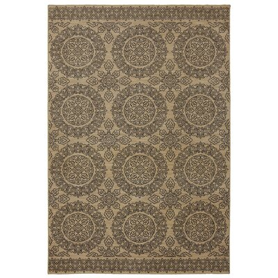 Pacifica Leawood Tan Area Rug Rug Size: 96 x 1210