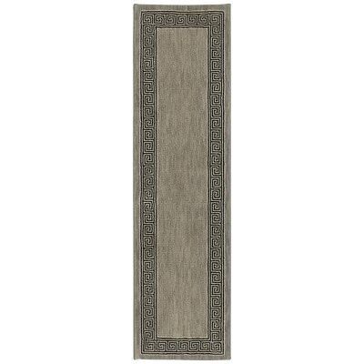 Pacifica Collier Gray Area Rug Rug Size: Runner 21 x 79