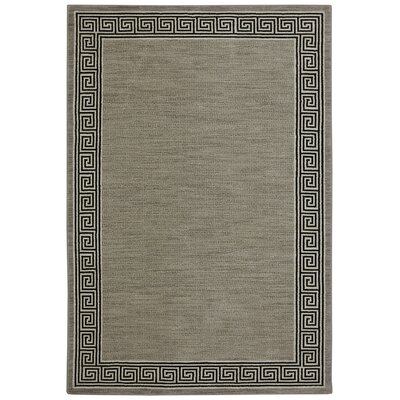Pacifica Collier Gray Area Rug Rug Size: 34 x 55