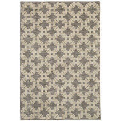 Pacifica Talbot Gray Area Rug Rug Size: 53 x 79