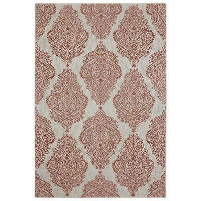 Pacifica Emerson Beige Area Rug Rug Size: 34 x 55