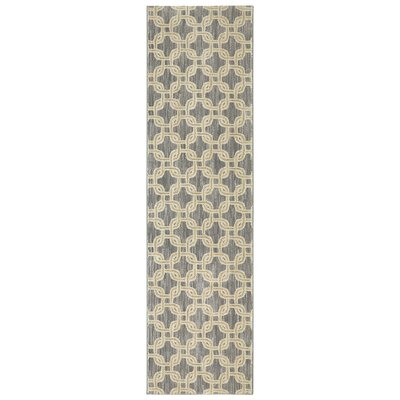Pacifica Talbot Gray Area Rug Rug Size: Runner 21 x 710