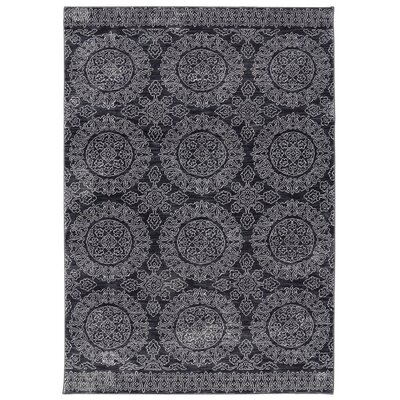 Pacifica Leawood Black Area Rug Rug Size: 96 x 1211