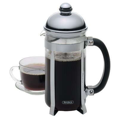 Maximus French Press Coffee Maker Color: Clear Glass/ Stainless Steel 53642