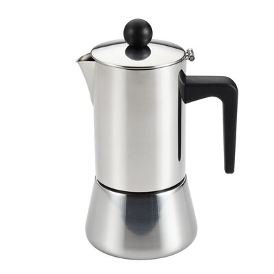 Insulated Latte Coffee Maker Size: 4 Cup 53916