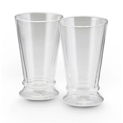 BonJour Insulated Glasses 12 oz Latte Cup 53219
