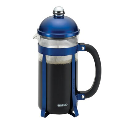 Maximus French Press Coffee Maker Color: Blue 51282