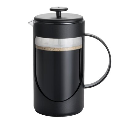 3-Cup Ami-Matin French Press Coffee Maker Size: 3 Cup, Color: Black 53193