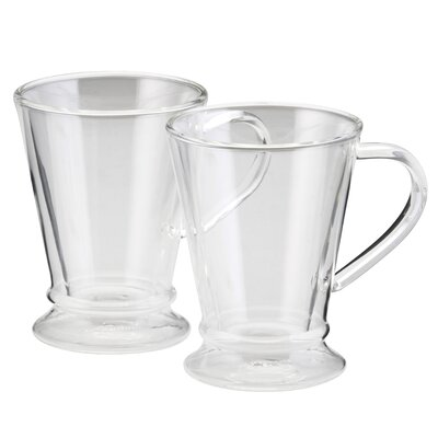 BonJour Insulated Glass 10 oz. Latte Cup 53218